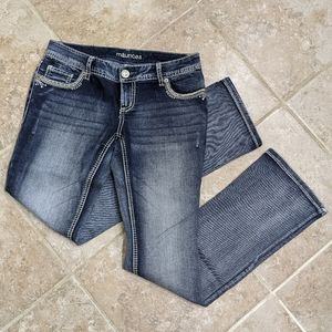 Maurice's Jeans 3/4. Like new.